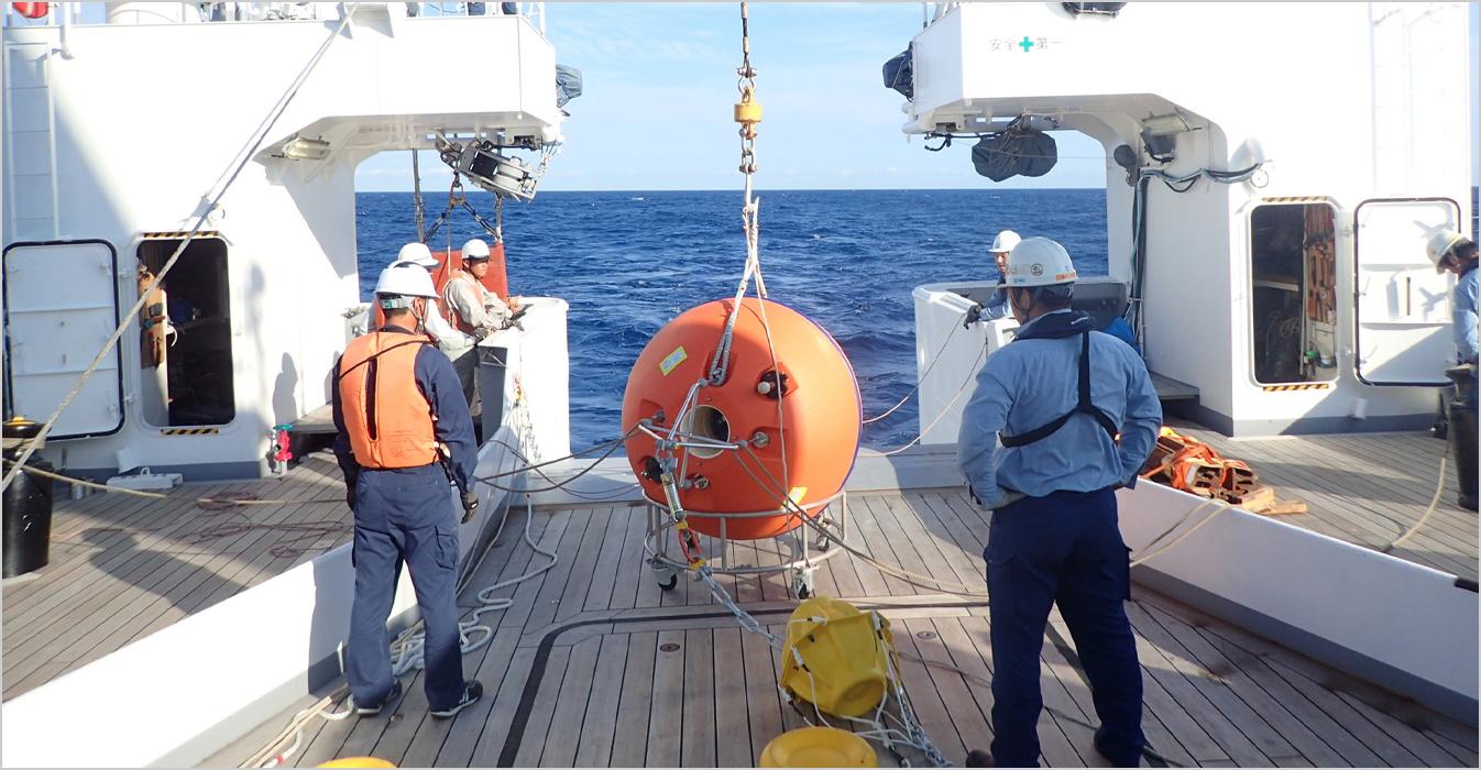 海洋エネルギーポテンシャル調査(年間海流観測)