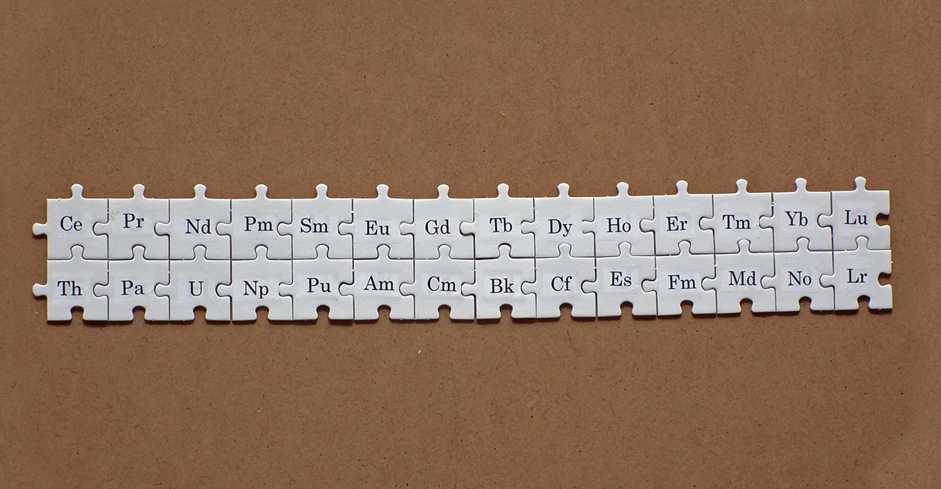 レアアース泥の微量金属測定